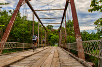 Bridge and Bicyles